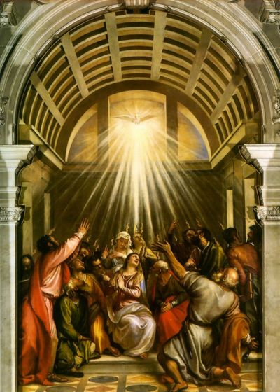 Pentecost titian