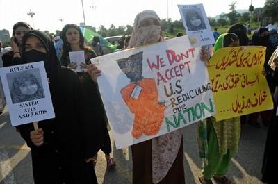 Aafia_protestors