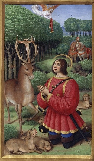 The Vision of Saint Hubert